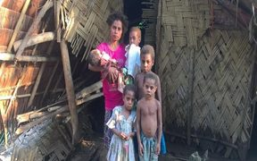 A mother of five who managed to save the lives of all her children on the night of the flooding and landslides.