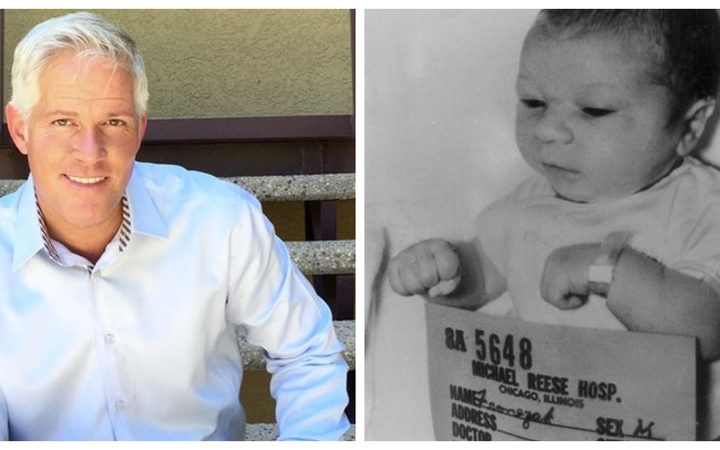 Paul Fronczak and the only image of the real baby Paul Fronczak