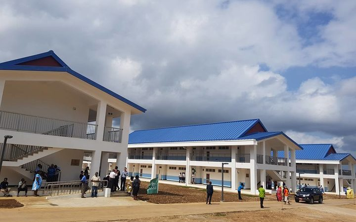 China provided $US10.6 million dollars for the project which has doubled the size of Malapoa College in Vanuatu.