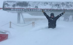 Cardrona Alpine Resort has shut for the day after experiencing what they call 'the largest single snowfall of winter 2018'.