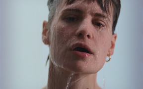 "Christine and the Queens, still from ""5 Dollars"" video"