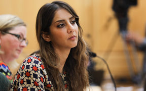 Green MP Golriz Ghahraman on the Foreign Affairs, Defence, and Trade select committee.