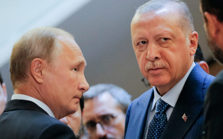 Russian President Vladimir Putin and Turkish President Recep Tayyip Erdogan are on opposite sides of the seven-year conflict in Syria, but key global allies, will discuss the situation in Idlib at Putin's residence.