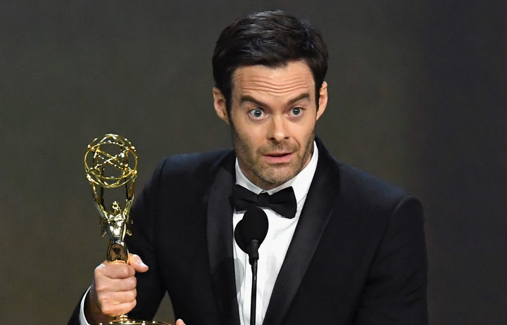 Bill Hader wins the Emmy for Outstanding Lead Actor in a Comedy Series award for 'Barry' .