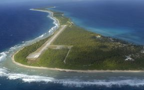 Rongelap Island, one of the Marshall Islands group.