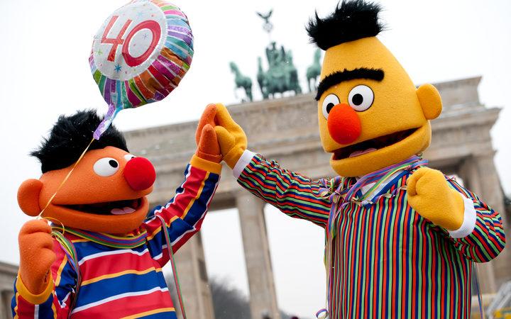 bert and ernie just good friends rnz news