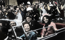 The Kennedys shortly before the assassination