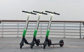 Lime e-scooters