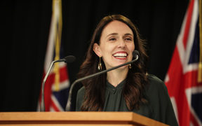 Prime Minister Jacinda Ardern addresses media at a post-Cabinet briefing 17 September..