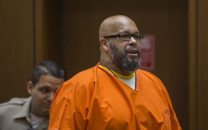 "Death Row Records co-founder, Marion ""Suge"" Knight."