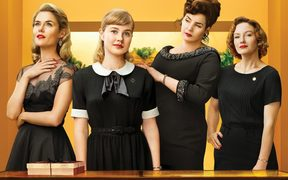 A still from the 2018 film Ladies in Black, directed by Bruce Beresford