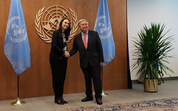 How New Zealand PM and her newborn made history at UN
