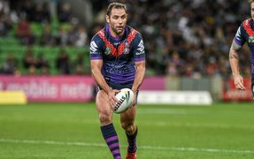 Melbourne Storm captain Cameron Smith