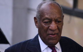 US Entertainer Bill Cosby arrives for a sentencing hearing in Norristown, PA, on September 25, 2018.