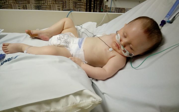 Atamarie has been admitted to the intensive care unit with bronchiolitis for the third time this winter.
