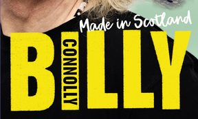 "cover of the book ""Made in Scotland"" by Billy Connolly"