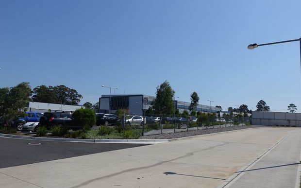 The Villawood Detention Centre in Western Sydney.