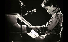 Prince with piano