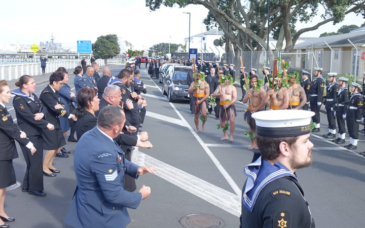 A repatriation ceremony bringing back two New Zealand sailors was held on 26 September.