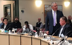 John Tamihere addresses Auckland Council.