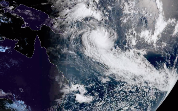 Unusual early cyclone forms in Pacific