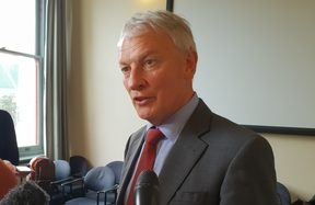 Auckland Mayor Phil Goff.