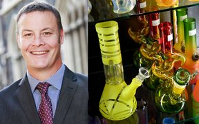Otago University's proctor Dave Scott had been criticised for entering student flats without permission and taking bongs.