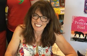 Children's book author Stacy Gregg
