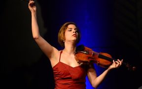 Violinist Ioana Cristina Goicea winner of the 2017 Michael Hill International Violin Competition