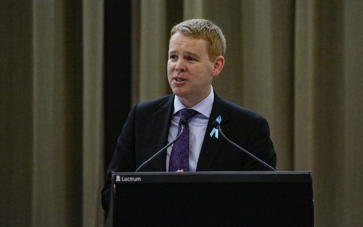 Chris Hipkins, Minister of Education, State Services, and Minister Responsible for Ministerial Services