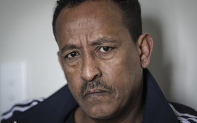 Former taxi driver Alem Tesema was shot by David Nuku a year ago. Nuku's sentancing will be held at the Wellington High Court tomorrow.