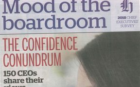 The Herald's special Mood of the Boardroom supplement.