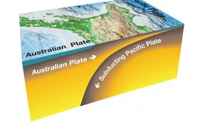 The Hikurangi subduction zone, where the Pacific Plate sinks beneath the Australian Plate, is New Zealand's largest fault and produces some of our biggest earthquakes.