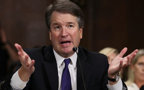 Judge Brett Kavanaugh testifies to the Senate Judiciary Committee