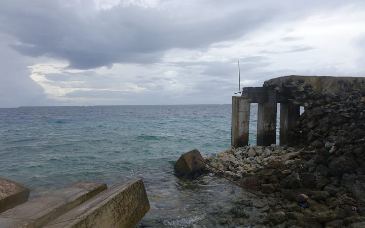 While Tokelauan families with means have been able to repair their sections of the seawall, others unable to afford construction costs have been left adrift.
