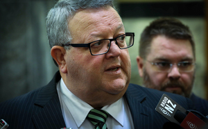 National MP, Gerry Brownlee.