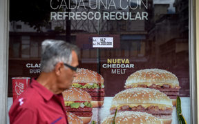 McDonalds closed down several of its restaurants in Venezuela. Venezuela's economy has collapsed into chaos under President Nicolas Maduro since 2013.