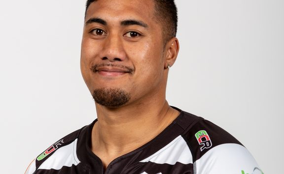 JJ Taulagi will soon be swapping black and white for the blue and white of Samoa.