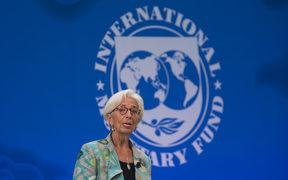The International Monetary Fund (IMF) managing director, Christine Lagarde.