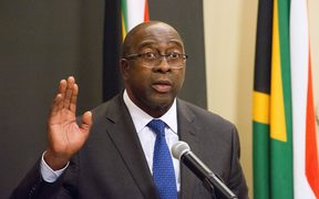 South Africa's Finance Minister Nhlanhla Nene.