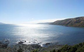 Kapiti Island and Kapiti Coast from Pukerua Bay