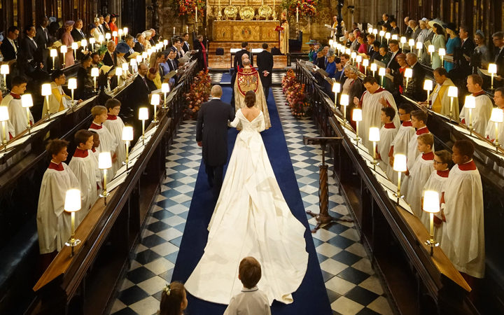Princess Eugenie's striking second wedding dress revealed!