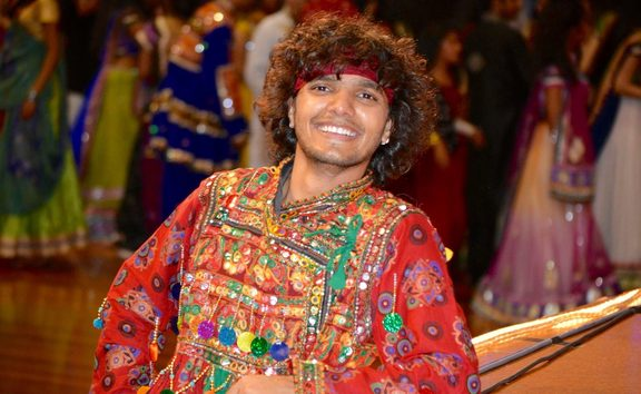 Ritesh Vaghela enjoys Navratri, or Nine Nights, Festival in New Zealand.