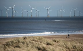 The price of electricity generated by off shore wind has plummeted.