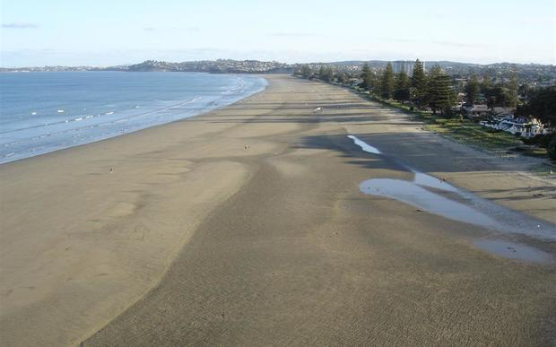 Sandy beaches in Orewa