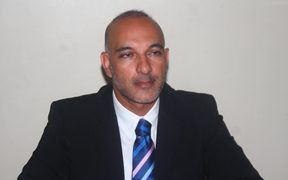 The parliamentary leader of Fiji's Labour Party Aman Ravindra-Singh.