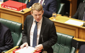 Chris Hipkins 9 august 2018