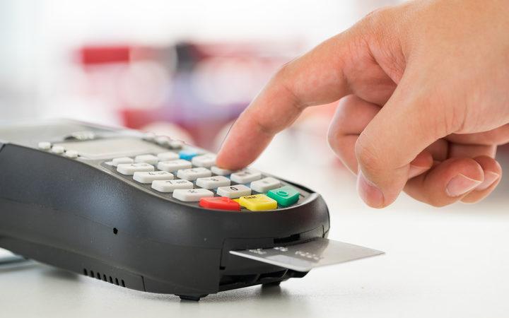 Credit card payment EFTPOS