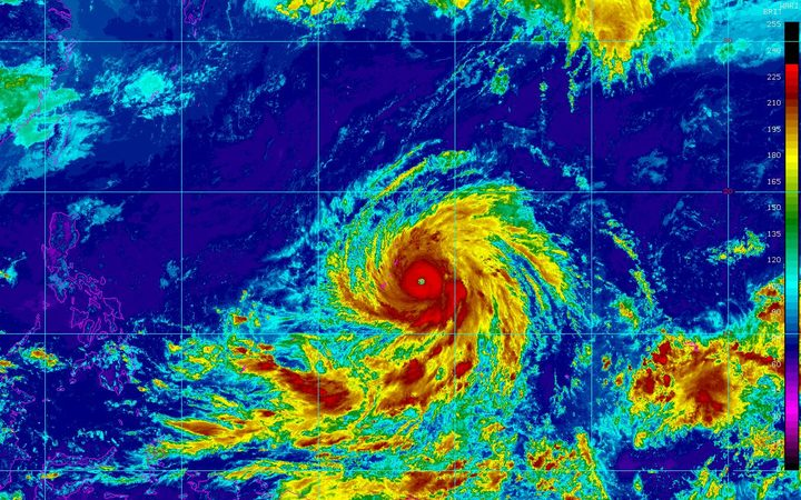 Super Typhoon Yutu hits Northern Mariana Islands with 180-mph winds