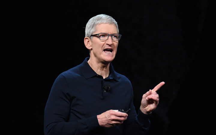 Apple chief executive Tim Cook.
